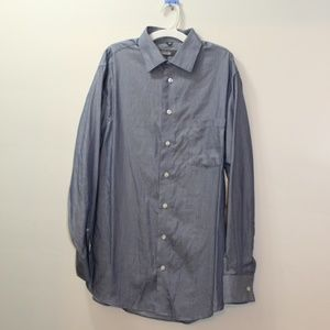 Kenneth Cole Reaction Blue Dress Shirt